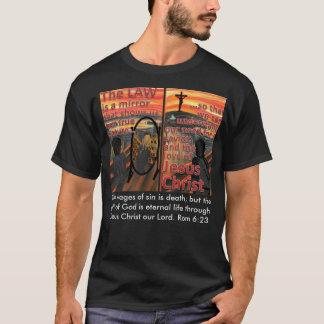 Das Gesetz ist ein Spiegel-T - Shirt