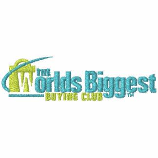 Das gestickte Polo der Weltgrößten Männer Weiß