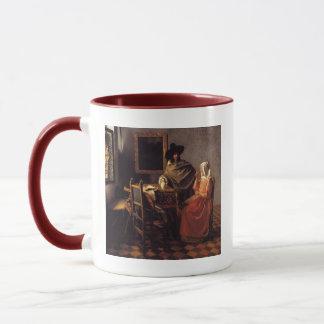 Das Glas des Weins Tasse