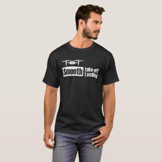 Das glatte Drohne entfernen glattes landenv1 T-Shirt