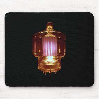 Das Glühen übertragen Vakuumröhre Mauspad