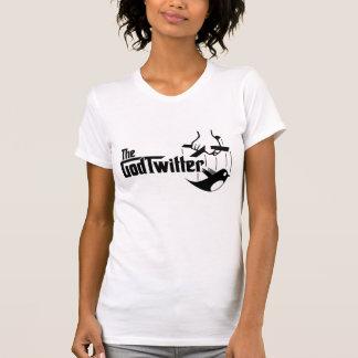 Das GodTwitter - Damen, weiß T-shirt