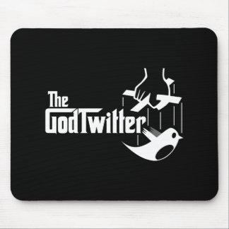 Das GodTwitter Mousepad