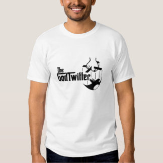 Das GodTwitter - weißer T - Shirt