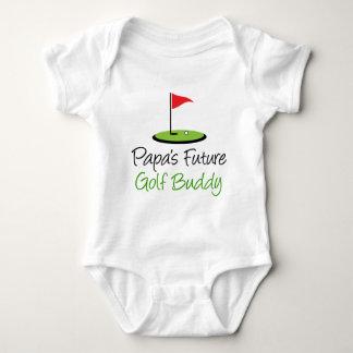 Das Golf-Freund des Papas Baby Strampler