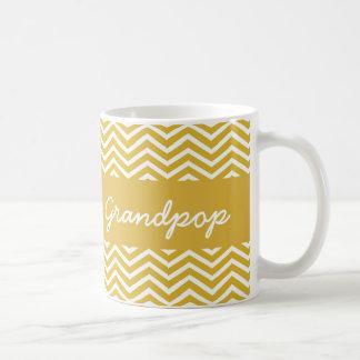 Das Grandpop der Welt beste Zickzack Senf-Tasse Tasse