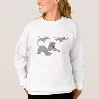 Das große Elefant-Rennen Sweatshirt