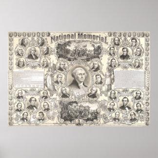 Das große nationale Denkmal durch christliche Poster