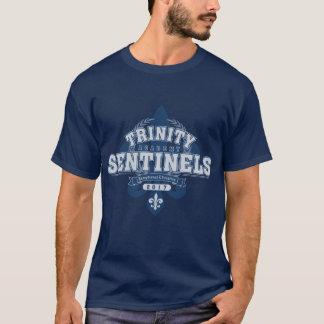 Das grundlegende dunkle T-Shirt der