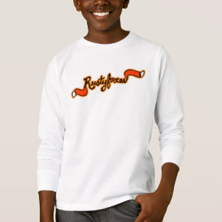 Das grundlegende Lang-Sleeved Shirt Rustyfoxes
