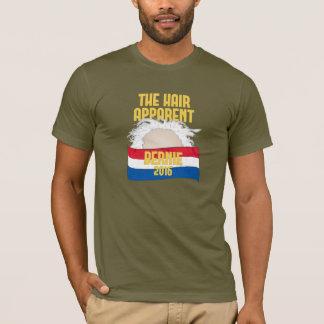 Das Haar offensichtlich - Bernie für Präsidenten T-Shirt