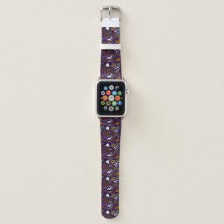 Das Halloween der Diva-Dackel Apple Watch Armband