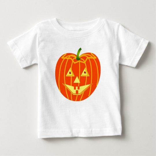 Das Halloween-Kürbis-T - Shirt des Babys