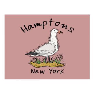 Das Hamptons Postkarte