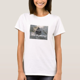 Das Hanes der Frauen großer Komfort-T - Shirt