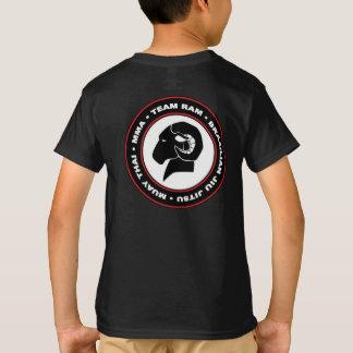 Das Hanes der Kinder klassischer schwarzer RAM T - T-Shirt