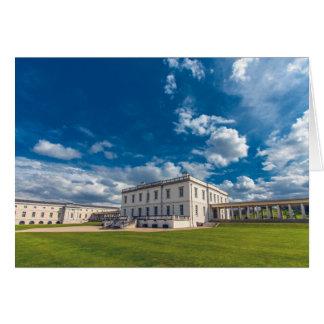 Das Haus der Königin, Greenwich Karte