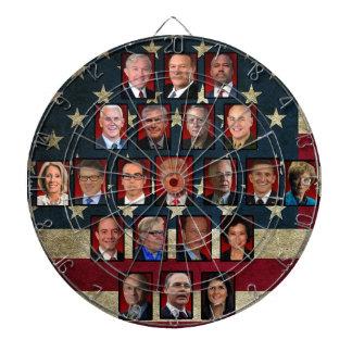 das Haus-Kabinett des Trumpfs Dartscheibe