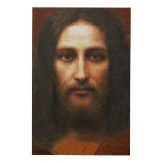 Das heilige Gesicht Holzleinwand