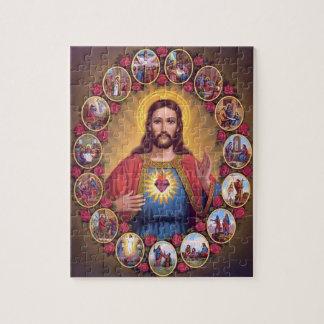 Das heilige Herz von Jesus Jigsaw Puzzle