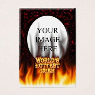 Das heißeste irische Feuer der Welt und das Visitenkarte