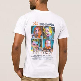 Das helle T-Shirt Männer Insel-Stadt-Opern-Dons