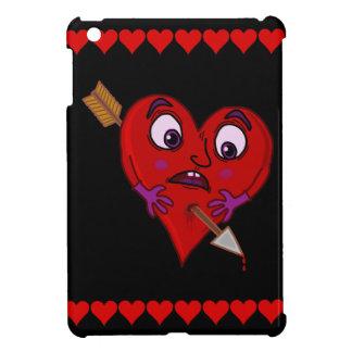Das Herz des lustigen Valentinsgrußes mit Pfeil iPad Mini Hülle