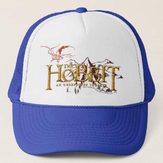 Das Hobbit Logo über Bergen Truckerkappe