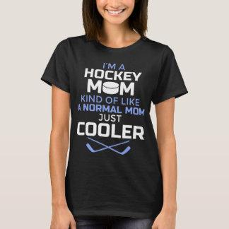 Das Hockey-Mamma-T-Shirt der Frauen cooles - T-Shirt