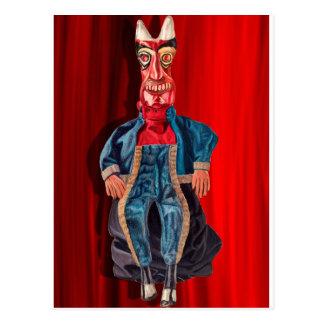 Das Inferno des Teufels Postkarte