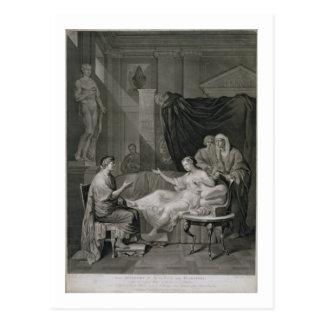 Das Interview von Augustus und von Kleopatra, Postkarte