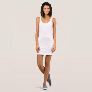 Das Jersey-Behälter-Kleid der Frauen Ärmelloses Kleid
