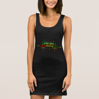 Das Jersey-Behälter-Kleid der Riddim Ärmelloses Kleid