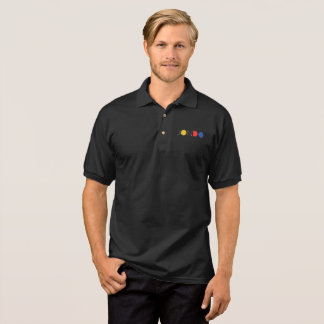 Das Jersey-Polo-Shirt der Männer (dunkel) Polo Shirt