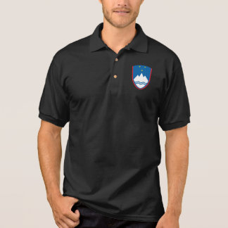 Das Jersey-Polo-Shirt der slowenisch nationalen Polo Shirt