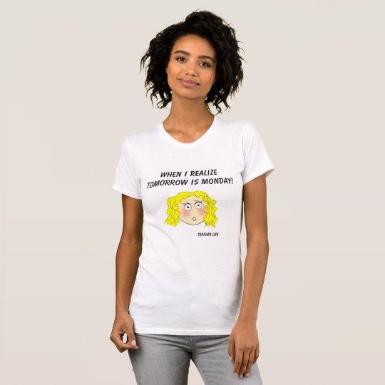 Das Jersey-Shirt der Wochenenden-Frauen T-Shirt
