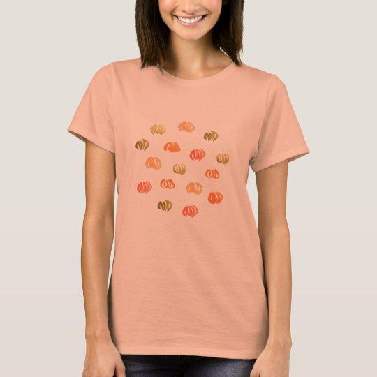 Das Jersey-T - Shirt der Kürbis-Frauen