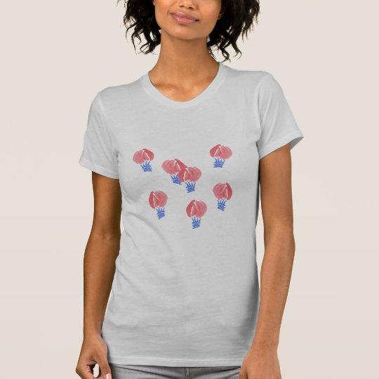 Das Jersey-T - Shirt der Luft-Ballon-Frauen