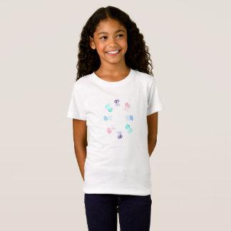 Das Jersey-T - Shirt der Quallen-Mädchen