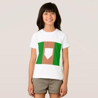 das Jersey-T - Shirt homeplate Mädchen