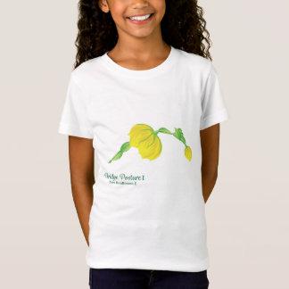 (das Jersey-T-Stück des Mädchens der T-Shirt