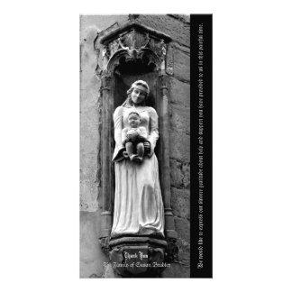 Das Jungfrau-und des Kind1 Beileid danken Ihnen Bilderkarten