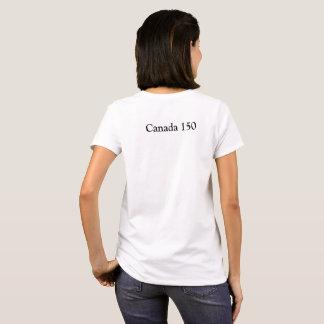 Das Kanada 150 der Frauen T-Shirt