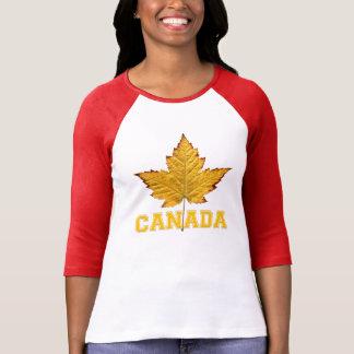 Das Kanada-Shirt-Jerseys Kanada der Frauen T-Shirt