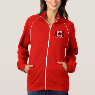 Das Kanadahoodie-personalisiertes Kanada-Shirt der Jacke