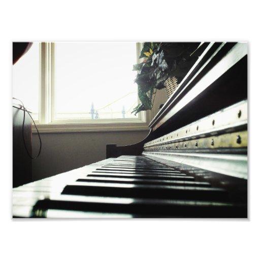 Das Klavier Photodruck