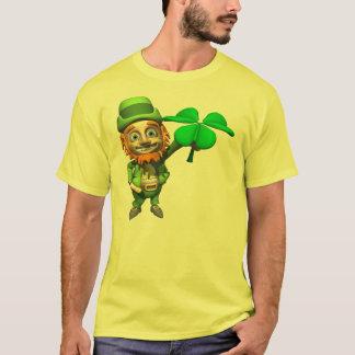 Das Kleeblatt-T - Shirt des Kobolds