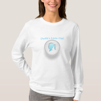 Das kleine Mädchen des Vatis T-Shirt
