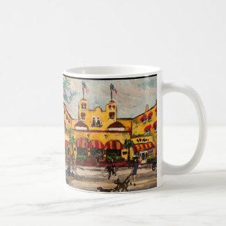 """Das Kolonien-Hotel bei Delray Beach, Florida"" Kaffeetasse"