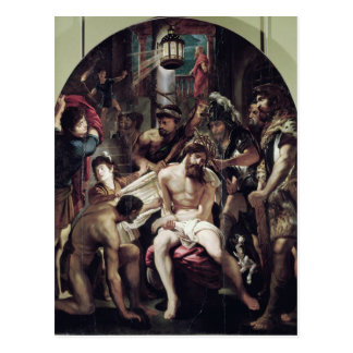 Das Krönen mit den Dornen, 1602 Postkarte